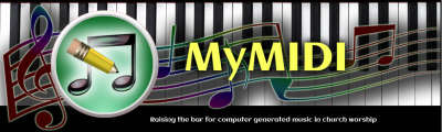 Free Music Backing Files for Churches - Piano, Band, Pipe Organ †